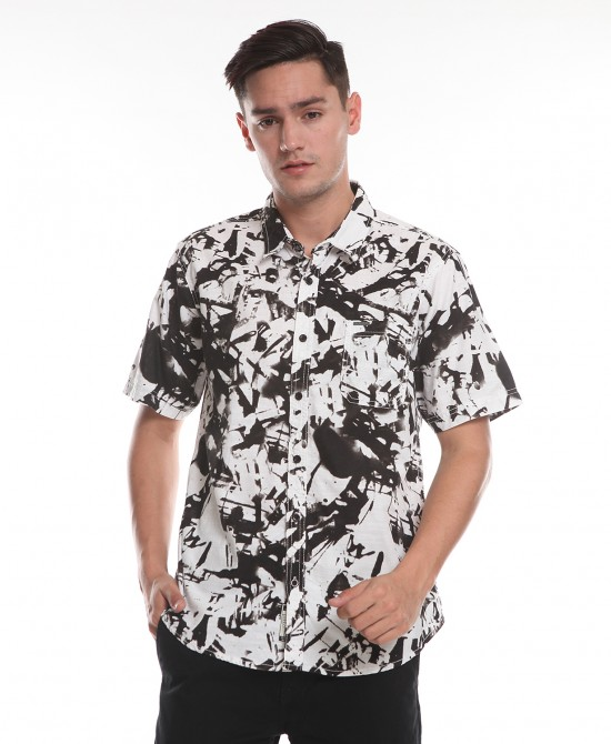 LAUV MEN SHIRT  WHITE